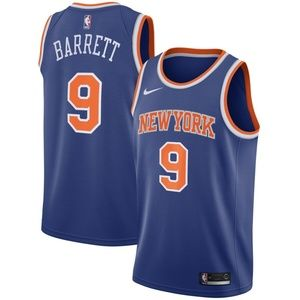 New York Knicks R.J. Barrett Nike Royal